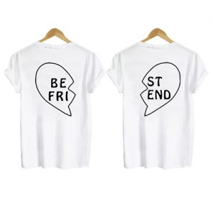 best friend shirt back couple