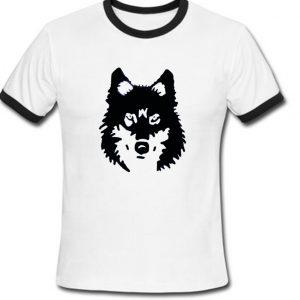 wolf ringer t-shirt