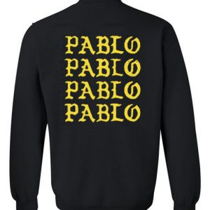 pablo back sweatshirt