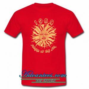 1969 Summer Of The Sun T Shirt