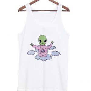 A cute alien tanktop