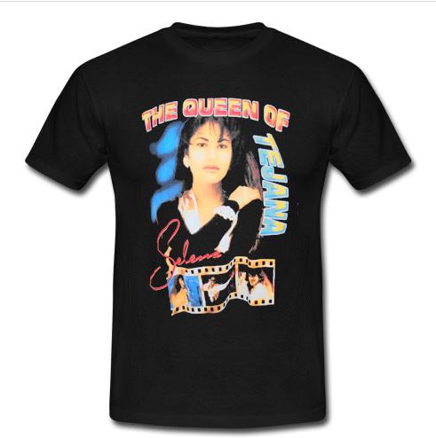 1ba7c576 ... selena quintanilla the queen of tejana t shirt advantees online ...