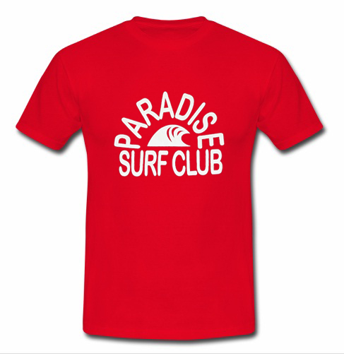 Paradise surf club t shirt advantees online shop for Surf shop tee shirts