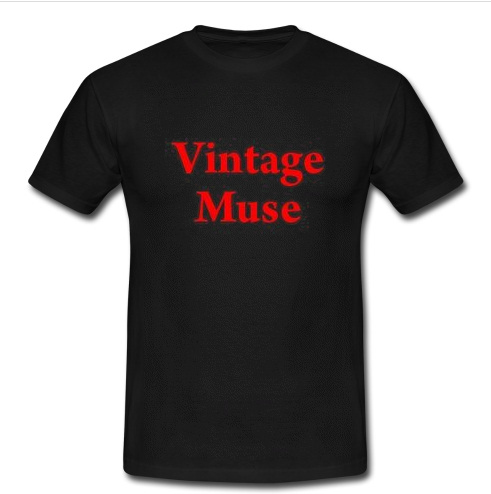 vintage muse t shirt. Black Bedroom Furniture Sets. Home Design Ideas