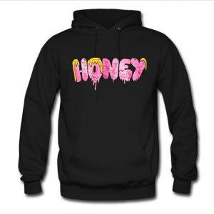 honey logo hoodie