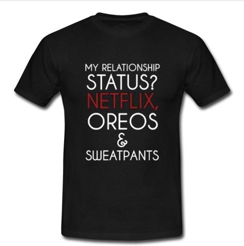 my relationship status hoodie
