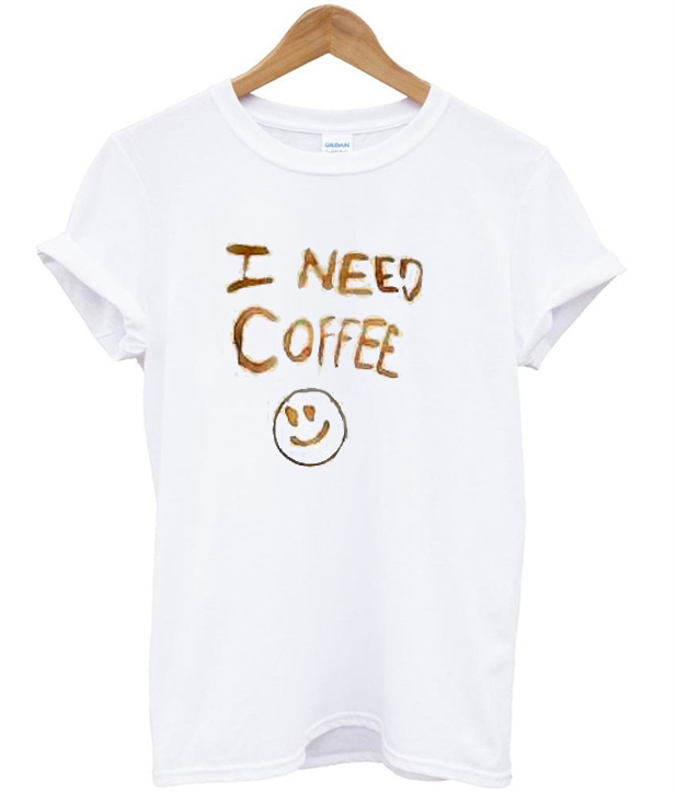 I need coffee t shirt for How to get coffee out of shirt