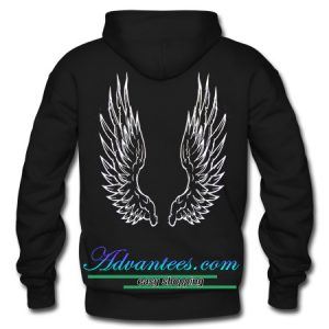 Angel Wings hoodie back