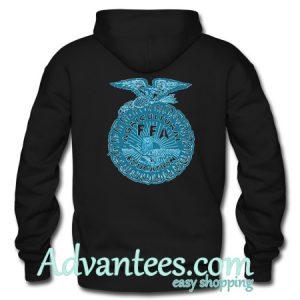 agricultural ffa hoodie back