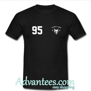5 Seconds of Summer 95 t shirt