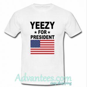 Yeezy for PresidentT-Shirt