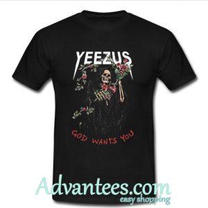 Yeezus god wants you tshirt