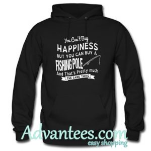 you cant buy happiness hoodie