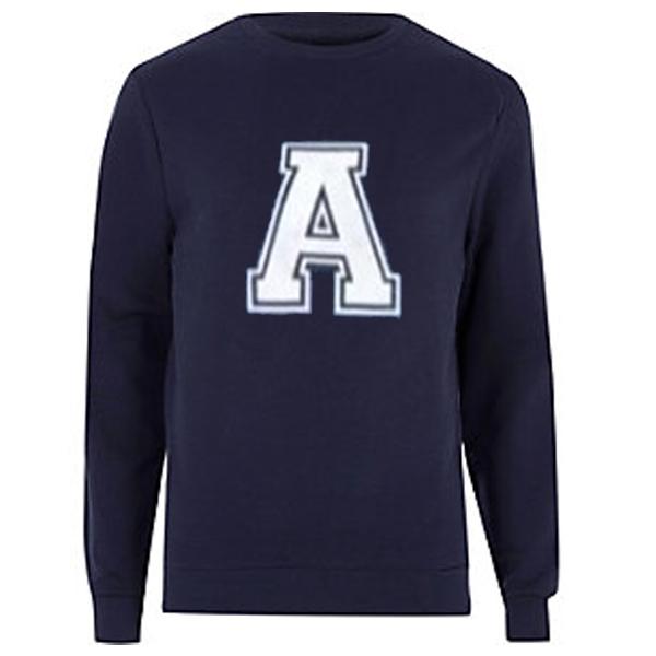 A logo sweatshirt