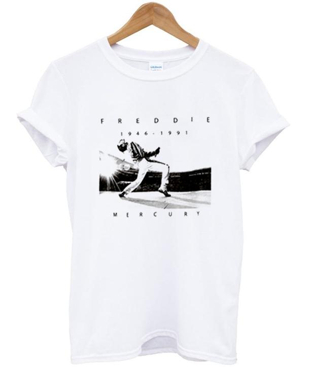 freddie mercury 1946 - 1991 t-shirt