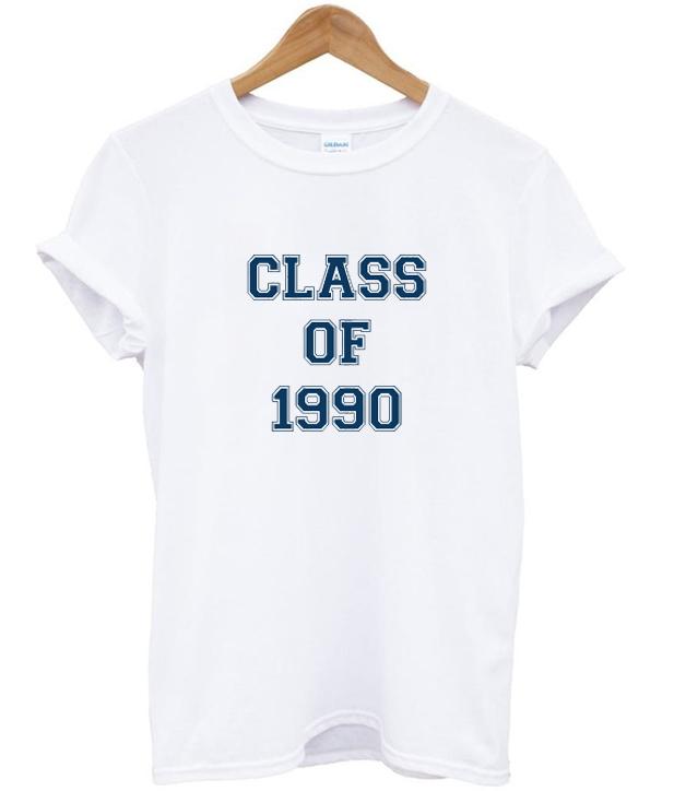 class of 1990 t-shirt