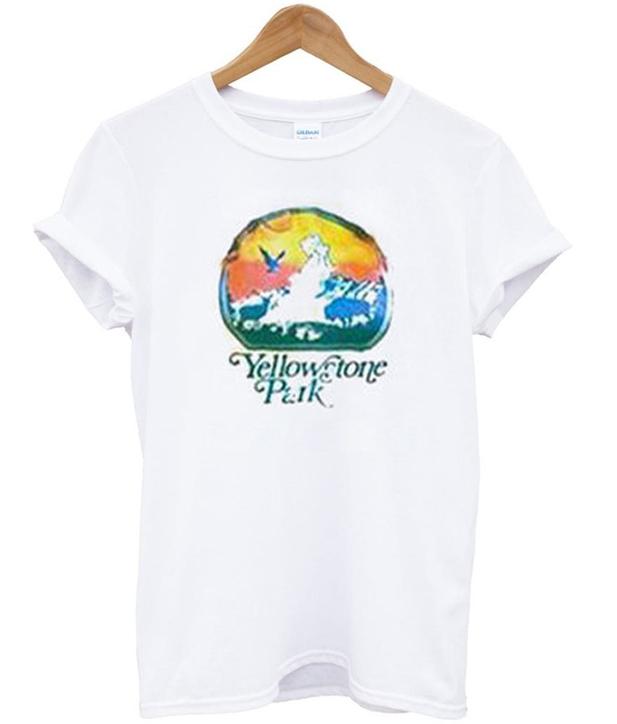 yellow stone park t-shirt