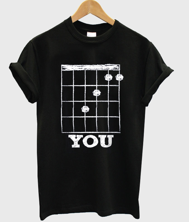 you guitar t-shirt