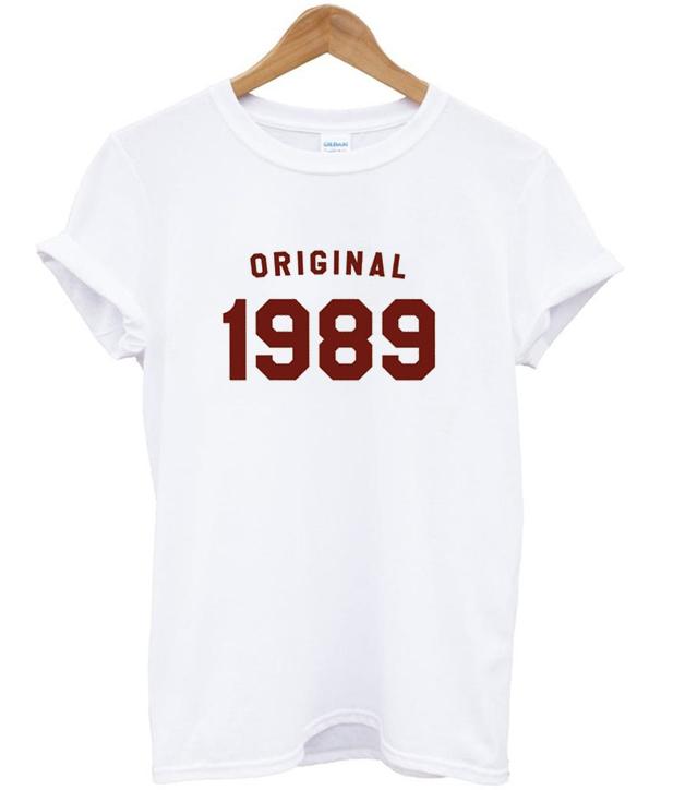 original 1989 t-shirt