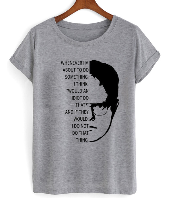 dwight sqrute quotes t-shirt