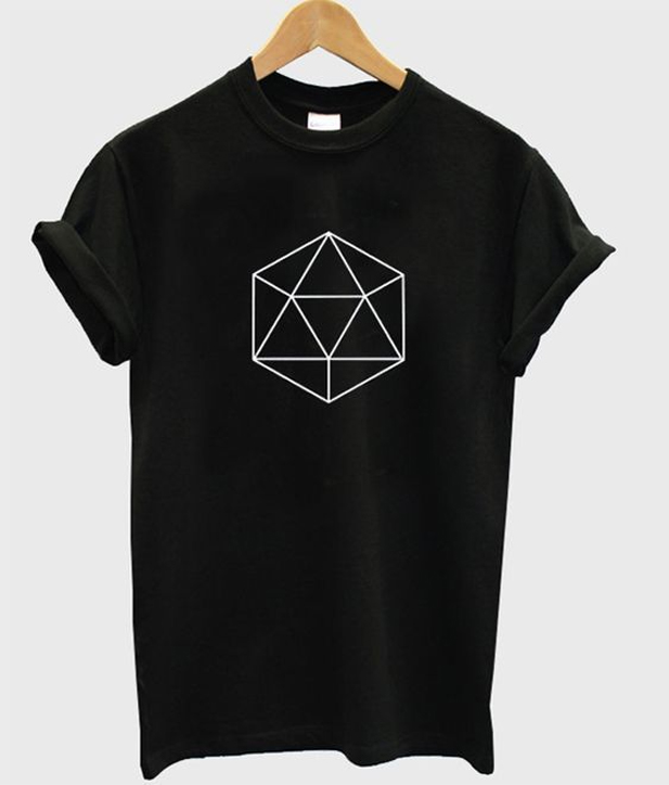 geometric shape t-shirt