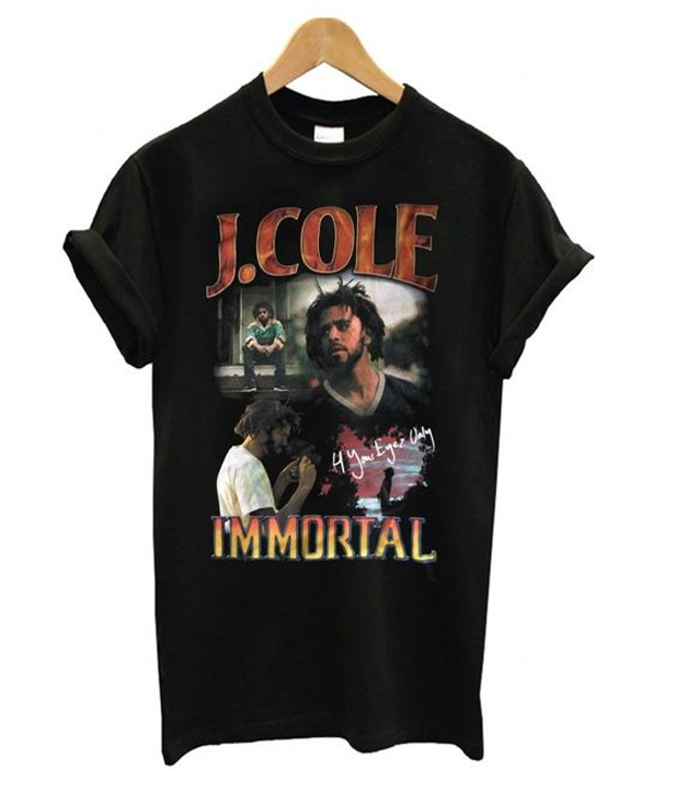 j cole immortal t-shirt